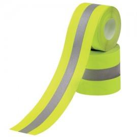 Bande pour vétements réfléchissante et fluorescente
