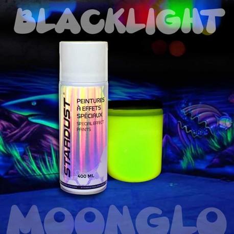 Peinture lumière noire UV en aérosol