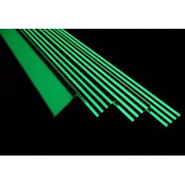 Nez de marches Alu antidérapant photoluminescent 4 modèles