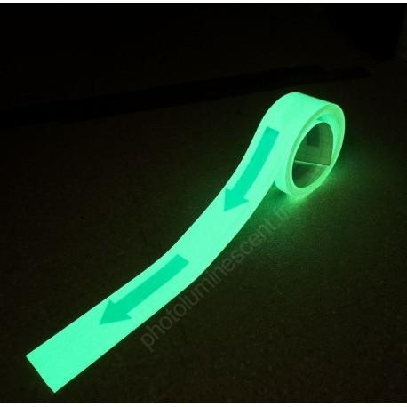 Bande de fléchage photoluminescente