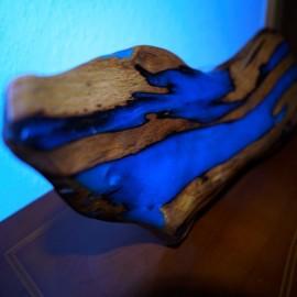 Pigments résines et encres phosphorescentes pour table époxy