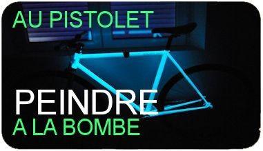 Peignez votre vélo vous même en phosphorescent !